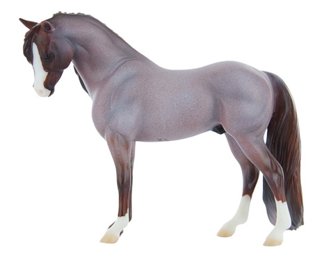 The Breyer model of Brookside Pink Magnum. (Photo courtesy of Breyer)